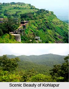 Tourism around Kolhapur  include historical sites with a number of forts, some natural wadis that describes the panoramic view of the ghats and some sanctuaries at the laps of Western ghats. For more visit the page. #travel #tourism #maharashtra #history