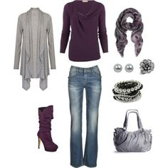 I found 'Beauty & Fashion - Purple Outfit' on Wish, check it out!