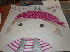 Pin the patch on the pirate