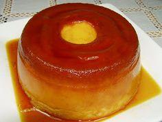 portuguese flavours: Portuguese egg pudding