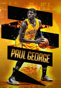 24 Paul George King Basketball Player