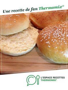 Pain à Hamburger par moumoune31. Une recette de fan à retrouver dans la catégorie Pains & Viennoiseries sur www.espace-recettes.fr, de Thermomix®.