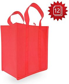 Grocery Bags - Reusable for Shopping - Durable High Quality Design - Reinforced Tote Shopping Handle - (Red 12 Pack) Gee Wow http://smile.amazon.com/dp/B0157EHVJG/ref=cm_sw_r_pi_dp_TKHqwb1A0QWFG