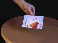 Bet someone a trillion dollars that you can walk through a postcard. | 22 Awesomely Useless Party Tricks You Can Learn Right Now