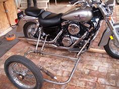 Spirit of America Eagle sidecar chrome frame