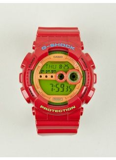 Casio G-Shock Colour Digital GD-100HC-4ER Watch