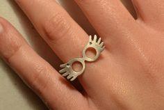 Harry Potter Luna Lovegood Jewelry Sterling Silver by thinkupjewel, $28.00