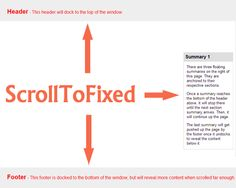 ScrollToFixed is a jQuery plugin that used to fix elements on the page (top, bottom, anywhere); however, it still allows the element to continue to move left or right with the horizontal scroll.