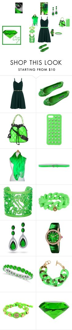 """""""The Green Girl"""" by sm-is-fangirl1 on Polyvore featuring Ralph Lauren Collection, Moschino, 4WE, Alexander McQueen, Dsquared2, ZENZii, Marc by Marc Jacobs, Bling Jewelry, Bulgari and Allurez"""