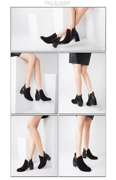 2017 Ankle boots Pu ECO leather shoes woman Round Toe Medium heels Spring Autumn Black Free shipping NAYTILYE 	100% of buyers enjoyed this product!	2 orders Price: US $147.15 & FREE Shipping
