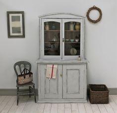 Rustic Painted Glazed Dresser - For Sale | Distressed But Not Forsaken