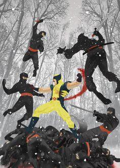 Wolverine by Ke Sneller
