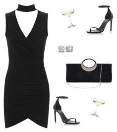 """Choker Dress"" by rasa-j ❤ liked on Polyvore featuring Yves Saint Laurent, Nordstrom, WearAll, womensFashion and chokerdress"