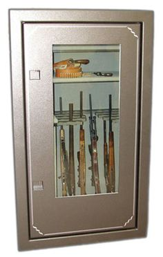 Clearview Glass Gun Safe - gotta keep them out of the kids' hands.
