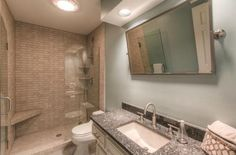 """Would this type of a """"door"""" work for a new, small bathroom?  Master?? *** 8318 W 102nd St, Overland Park, KS 66212"""