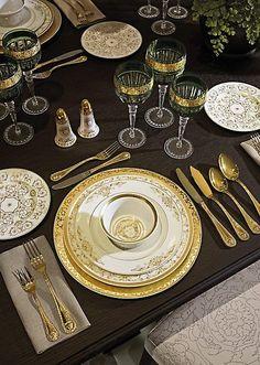 Versace Home Collection | Medusa Gala Tableware
