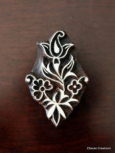Indian Wood Block Stamp Textile Stamp Pottery by charancreations