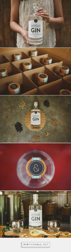 Ampersand Gin - Packaging of the World - Creative Package Design Gallery - http://www.packagingoftheworld.com/2017/10/ampersand-gin.html