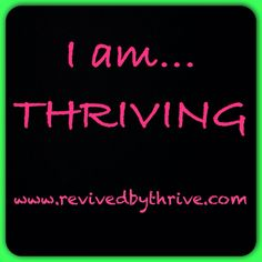 www.revivedbythrive.com All natural vitamins, minerals, nutrients.  THRIVE by is hard to explain and challenging to describe, it's something you just have to try.  Sign up for free!