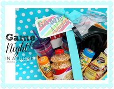 Raising up Rubies: game night! ... in a bucket ♥
