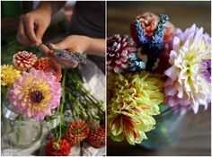 Farmer's Market flower arrangement
