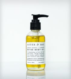 Sweet Fennel & Cypress Natural Detox Body Oil