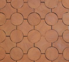 Circle - Tierra High Fired Terra Cotta Floor Tile Pin You can easily Terracotta Floor, Sanded Grout, Red Tiles, Industrial Flooring, 3d Studio, Old World Charm, Tile Design, Facade Design, Floor Design