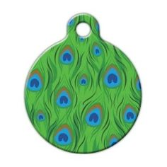 Custom Pet ID Tag for Dogs and Cats Dog Tag Art Lupine Pattern Lollipop
