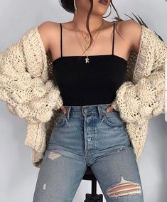 Cute Fall Outfits Ideas 2018 - 50 fall outfit ideas ⋆ Take NoteYou can find Outfit ideas and more on our website.Cute Fall Outfits Ideas 2018 - 50 fall outfit ideas ⋆ Take Note Winter Fashion Outfits, Look Fashion, Spring Outfits, Runway Fashion, Fashion Beauty, Fashion Dresses, Teen Winter Outfits, Teen Outfits, Fashion Spring