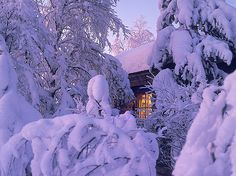 Cottagelife_winter_Finland