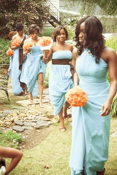 Chocolate and Blue Wedding Colors - Chocolate Brown works ...