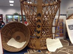 3/18. Pomo Indian baskets - can't help but be mesmerized by them.