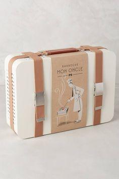 WE ♥ THIS!  ----------------------------- Original Pin Caption: Portable Briefcase BBQ