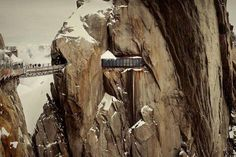 Aiguille du Midi: Chamonix, France in the French Alps