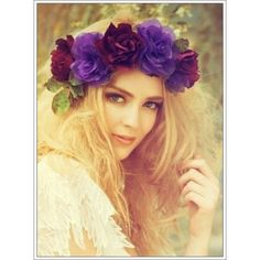 """""""Somone Told me there is a girl out there with love in her eyes and flowers in her hair.""""  Robert Plant #unique #beautiful #love #oneofakind #different #creative #special #beauty #amazing #beyourself #awesome #chic #beyou #happy #life #flowercrown #hippie #boho #peace #bohemian #gypsy #flowerchild #freespirit #jbhomemade #etsy #skincare #sugaring #natural #vegan #bathandbody  via stylishwife.com"""
