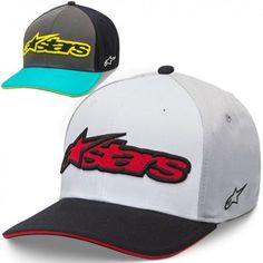 Alpinestars Heat Mens Caps Motorcycle Street Curved Bill Hats