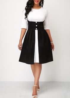 Shop casual Dresses online,Dresses with cheap wholesale price,shipping to worldwide Black Dress With Sleeves, Half Sleeve Dresses, Half Sleeves, Dresses With Sleeves, Tight Dresses, Sexy Dresses, Dress Outfits, Casual Dresses, Fashion Outfits