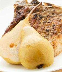 Cotlete de porc cu pere - www.Foodstory.ro