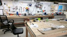 My wife is a jewelry designer. She has a workshop where she spends much her time hammering, soldering, tinkering, shaping, sawing, buffing, polishing, experimenting, and iterating in order to producegorgeous designs from a slew of shiny metal materials.    Her workshop environment is designed f