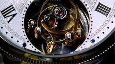 Tourbillon Mechanical Watch Chinese Movements [closeup]