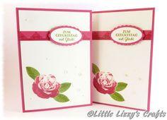 Geburtstagskarte Picture Perfect Rose