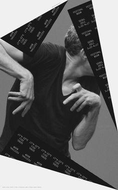 舞蹈巡迴海報 B&U | MyDesy 淘靈感