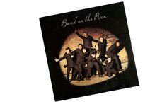 Michael Parkinson and James Coburn? The story behind Wings' baffling cover for their Band on the Run album. It Band, New Bands, Denny Laine, Michael Parkinson, Wings Band, Paul Mccartney And Wings, Band On The Run, Sgt Pepper, One Wave