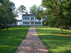 The Gregory Plantation House at Torreya State Park by Florida's State Parks.