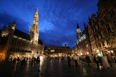 Grande Place--Brussels, Belgium.  I'll never forget that 6 hour beer tour ;-)