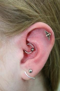 Daith-Piercing