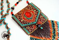 Marrakech Beaded Amulet