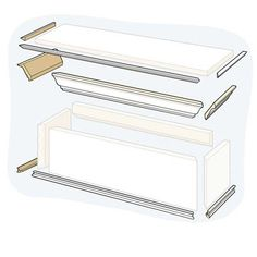 Illustration: Gregory Nemec | thisoldhouse.com | from How to Build a Window Cornice