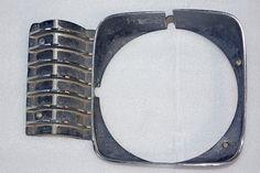 Used 69-72 Nova RH Headlight Bezel Used Parts, Cuff Bracelets, Nova, Jewelry, Jewlery, Jewerly, Schmuck, Jewels, Jewelery