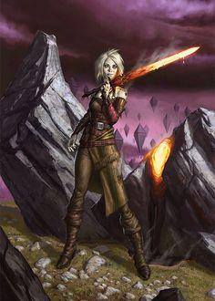 Nahiri, the Lithomancer of Zendikar!